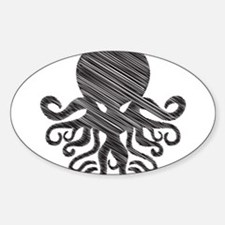 CTHULHU Oval Decal