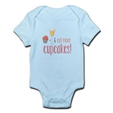 Eat more cupcakes Body Suit