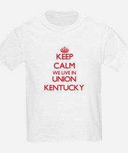 Keep calm we live in Union Kentucky T-Shirt