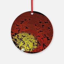 Australian Sun Ornament (Round)