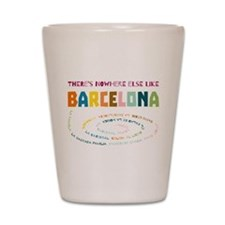There's nowhere else like Barcelona Shot Glass