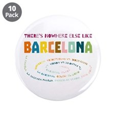 """There's nowhere else like Ba 3.5"""" Button (10 pack)"""