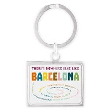 There's nowhere else like Barcelona Keychains