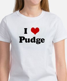 I Love Pudge Women's T-Shirt
