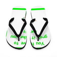 Ccu nurse Flip Flops