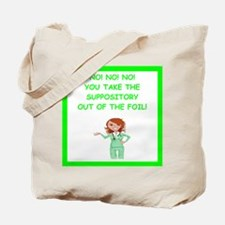 Emergency room physician Tote Bag