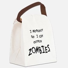 Outrun Zombies 2 Canvas Lunch Bag