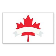 Canada Canadian Maple Leaf Symbol Banner Decal