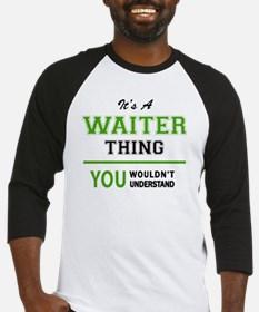 Unique Waiter Baseball Jersey