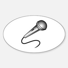 MICROPHONE Decal