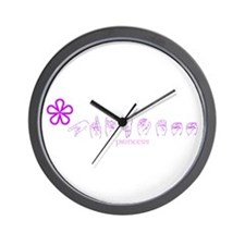 ASL Princess Wall Clock