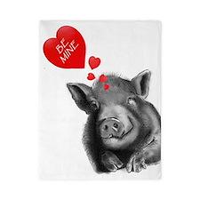 valentines lucy the wonder pig Twin Duvet