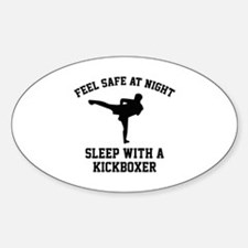 Sleep With A Kickboxer Decal