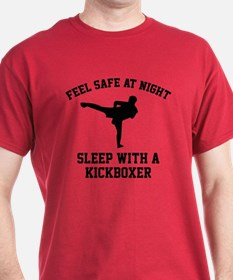 Sleep With A Kickboxer T-Shirt