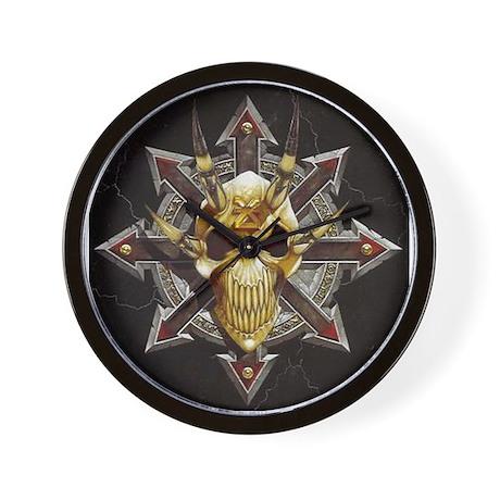 Daemon Skull Clock