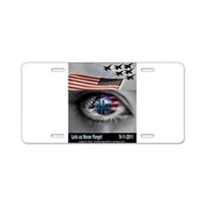 9-11-5 Aluminum License Plate