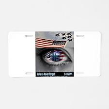 9-11-5 Aluminum License Plate