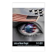 9-11-5 Postcards (package Of 8)