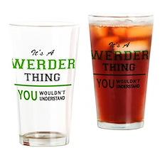 Cute Werder Drinking Glass