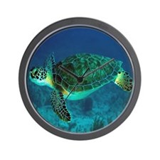 Ocean Turtle Wall Clock