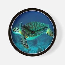 Ocean Turtle Wall Clock