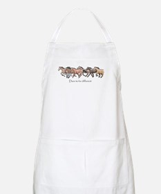 dare to be different Apron