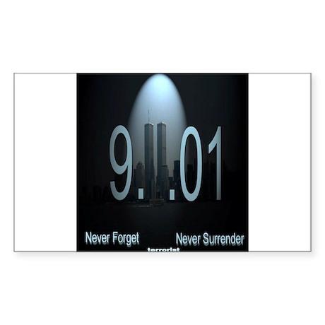 9-11-1 Sticker