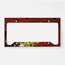 Australian Sun License Plate Holder
