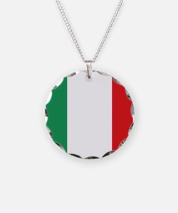 Flag of Italy Necklace
