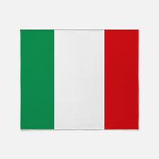 Flag of Italy Throw Blanket