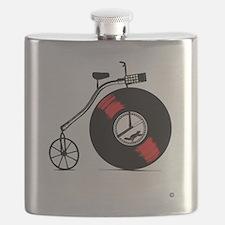 Record Bike Flask