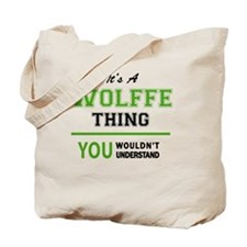 Unique Wolff Tote Bag