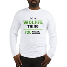 Funny Wolff Long Sleeve T-Shirt