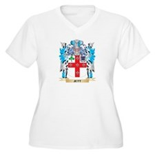 Jett Coat of Arms - Family Crest Plus Size T-Shirt