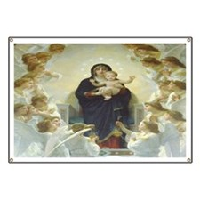 Mother Mary Banner