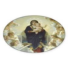Mother Mary Decal