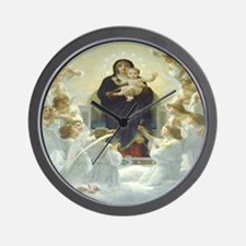 Mother Mary Wall Clock