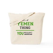 Unique Yemen Tote Bag
