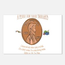 a penny for your2.png Postcards (Package of 8)