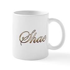 Gold Shae Mugs