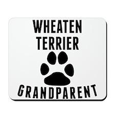 Wheaten Terrier Grandparent Mousepad