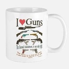 i love guns 2 main2.png Mugs