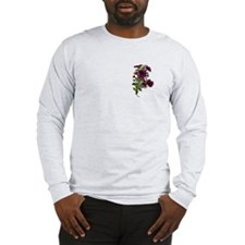 PURPLE PETUNIA FROGS Long Sleeve T-Shirt