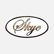 Gold Skye Patches