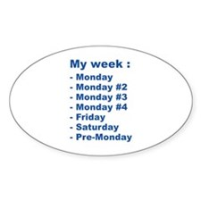 My Week Decal