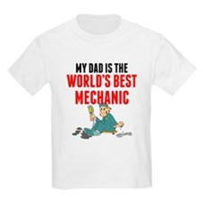 My Dad Is The Worlds Best Mechanic T-Shirt