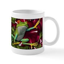 RED PETUNIA FROGS Mug