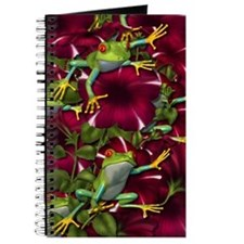 RED PETUNIA FROGS Journal