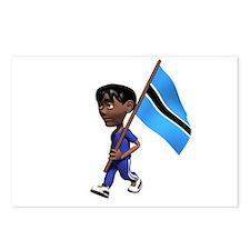 Botswana Boy Postcards (Package of 8)