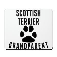 Scottish Terrier Grandparent Mousepad